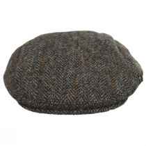Harris Tweed Overcheck Herringbone Wool Blend Ivy Cap alternate view 6