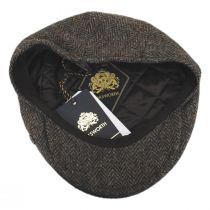 Harris Tweed Overcheck Herringbone Wool Blend Ivy Cap alternate view 12