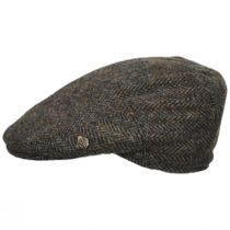 Harris Tweed Overcheck Herringbone Wool Blend Ivy Cap alternate view 15