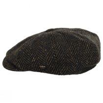 Magee Donegal Tweed Herringbone Wool Blend Newsboy Cap alternate view 3