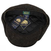 Magee Donegal Tweed Herringbone Wool Blend Newsboy Cap alternate view 8