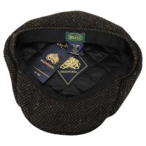 Magee Donegal Tweed Herringbone Wool Blend Newsboy Cap alternate view 24