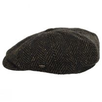 Magee Donegal Tweed Herringbone Wool Blend Newsboy Cap alternate view 7