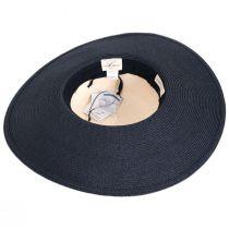 Calmia Toyo Straw 2-Tone Swinger Sun Hat alternate view 4