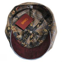 Aire Mixed Print Cotton Newsboy Cap alternate view 4