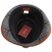 Romeo Plaid Cotton Fedora Hat alternate view 4
