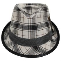 Romeo Plaid Cotton Fedora Hat alternate view 6