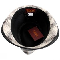 Romeo Plaid Cotton Fedora Hat alternate view 32