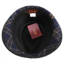 Romeo Plaid Cotton Fedora Hat alternate view 8
