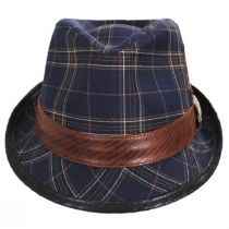 Romeo Plaid Cotton Fedora Hat alternate view 18