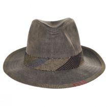 1969 Wax Cotton Fedora Hat alternate view 2
