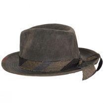 1969 Wax Cotton Fedora Hat alternate view 3