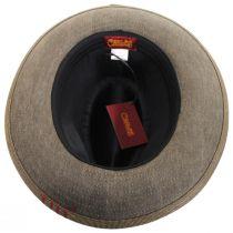 1969 Wax Cotton Fedora Hat alternate view 8