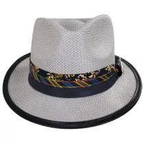 Showman Toyo Straw Fedora Hat alternate view 2