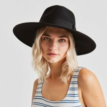 Joanna II Wool Felt Fedora Hat in