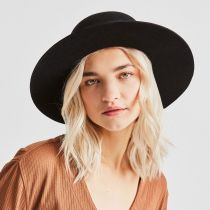 Phoebe Wool Felt and Leather Open Crown Hat alternate view 41