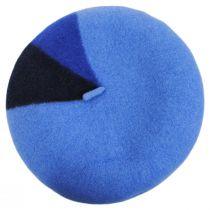 Audrey Colorblock Wool Beret alternate view 2