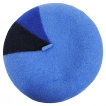 Audrey Colorblock Wool Beret alternate view 22