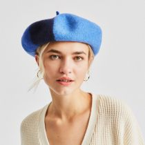 Audrey Colorblock Wool Beret alternate view 24