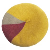 Audrey Colorblock Wool Beret alternate view 7