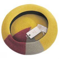 Audrey Colorblock Wool Beret alternate view 8