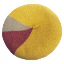 Audrey Colorblock Wool Beret alternate view 17