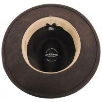 Cromwell Crushable Wool Felt Fedora Hat in
