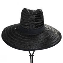 X-Large Brim Straw Lifeguard Hat alternate view 2