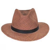 Lera III Palm Straw Fedora Hat alternate view 2