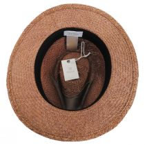 Lera III Palm Straw Fedora Hat alternate view 4