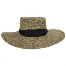 Ultrabraid Scarf Bow Toyo Straw Blend Boater Hat alternate view 2