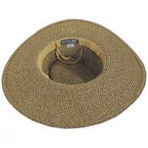 Ultrabraid Scarf Bow Toyo Straw Blend Boater Hat alternate view 4