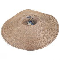 Milan Wheat Straw Boater Hat alternate view 4