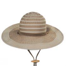 Ribbon Floppy Chincord Sun Hat in