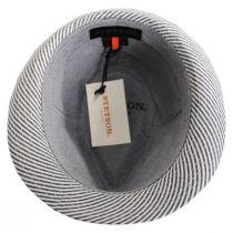 Blues Seersucker Cotton Fedora Hat alternate view 16