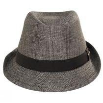 Keeper Plaid Irish Linen Fedora Hat alternate view 2