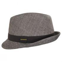 Keeper Plaid Irish Linen Fedora Hat alternate view 3