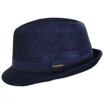 Keeper Plaid Irish Linen Fedora Hat alternate view 15