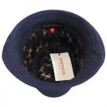Keeper Plaid Irish Linen Fedora Hat alternate view 16