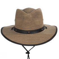 Hunter Weathered Toyo Straw Outback Hat in