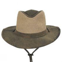 Buckaroo Tarp Cloth Cotton Outback Hat in