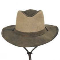 Buckaroo Tarp Cloth Cotton Outback Hat alternate view 2