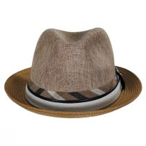 Roxbury Toyo Straw Blend Fedora Hat alternate view 6