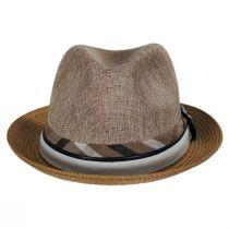 Roxbury Toyo Straw Blend Fedora Hat alternate view 14