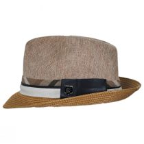 Roxbury Toyo Straw Blend Fedora Hat alternate view 15