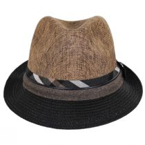 Roxbury Toyo Straw Blend Fedora Hat alternate view 2