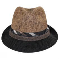 Roxbury Toyo Straw Blend Fedora Hat alternate view 10