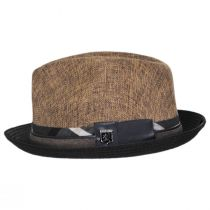 Roxbury Toyo Straw Blend Fedora Hat alternate view 15