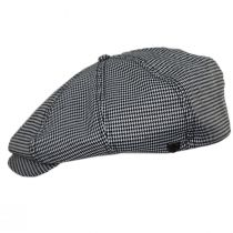 Brood Houndstooth Newsboy Cap alternate view 9