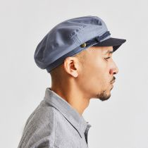 Two Tone Cotton Fiddler Cap alternate view 5